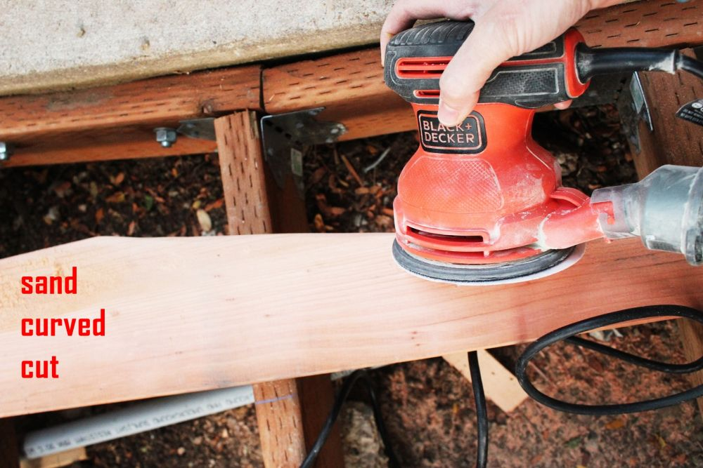 How to Install Curved Deck Floor-When the board fits perfectly in the curve