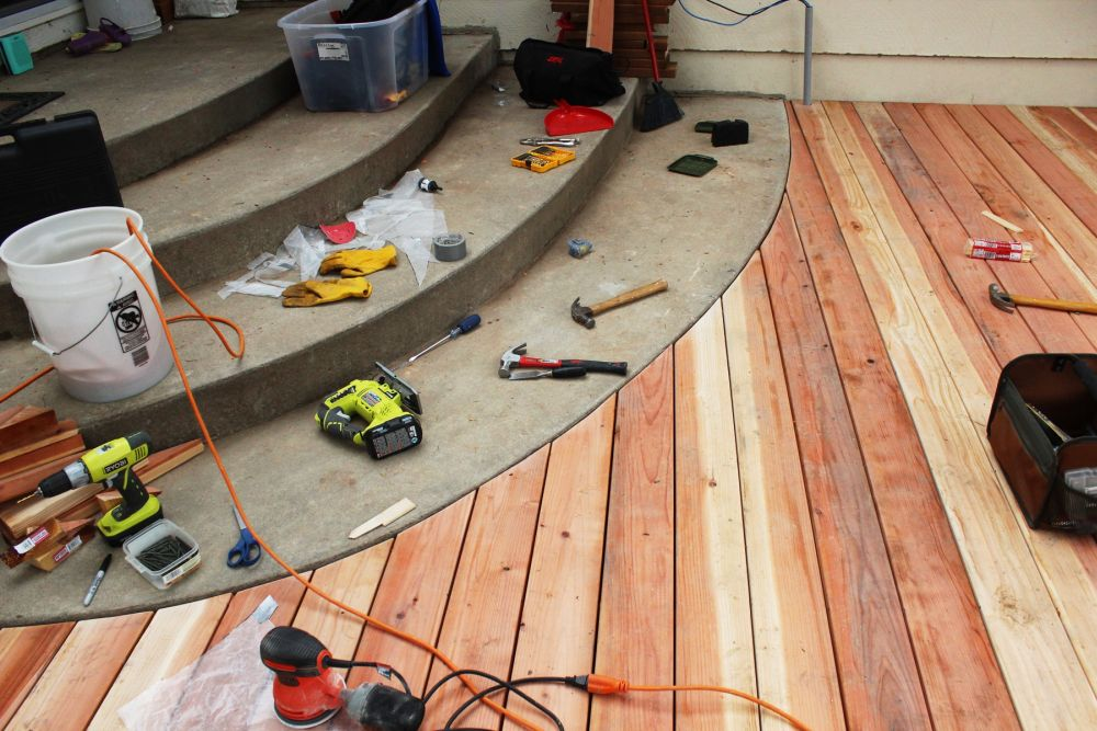 How to Install Curved Deck Floor-your curved deck installed