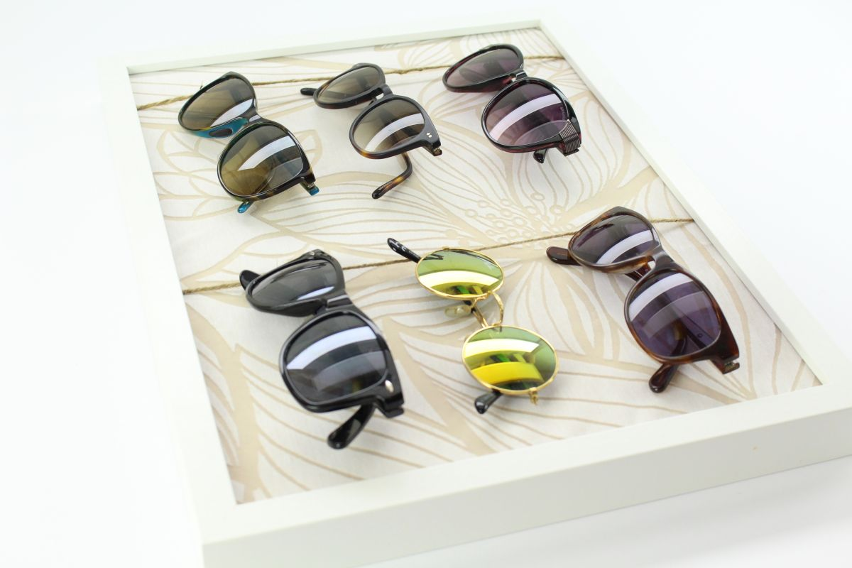 DIy A Chic Way to Store Your Sunnies