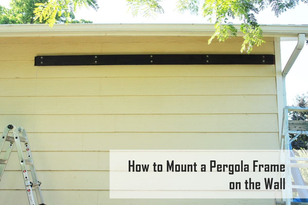 How to wall mount a pergola frame view in gallery jeuxipadfo Images