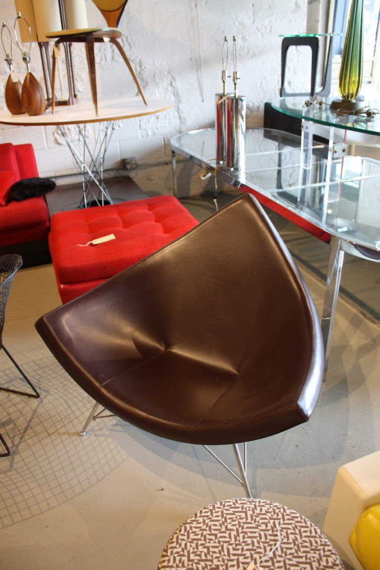 Vintage mid-century modern chairs command high prices today.