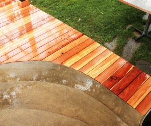 How to Install a Curved Deck Floor