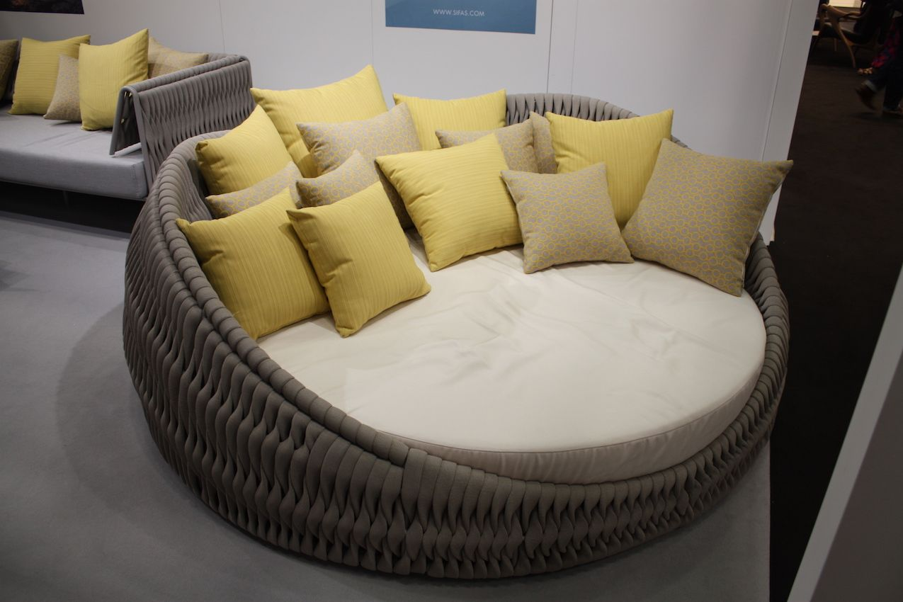 Cushy and comfortable, a lounge like this was made for relaxing.