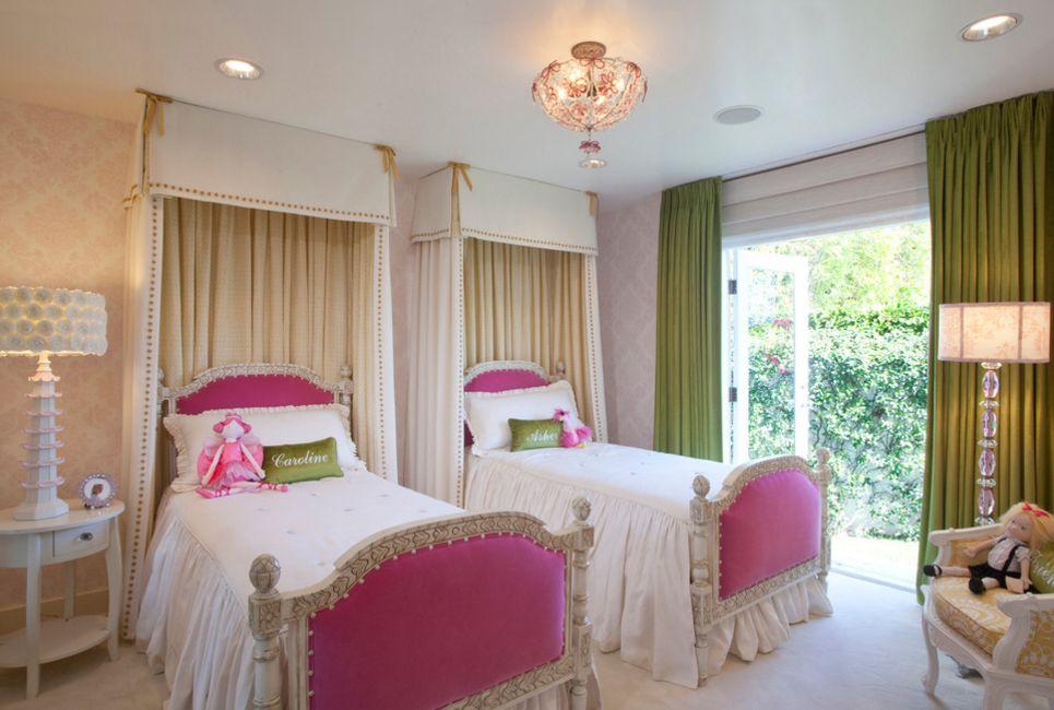 Дизайн комнаты для двух девочек