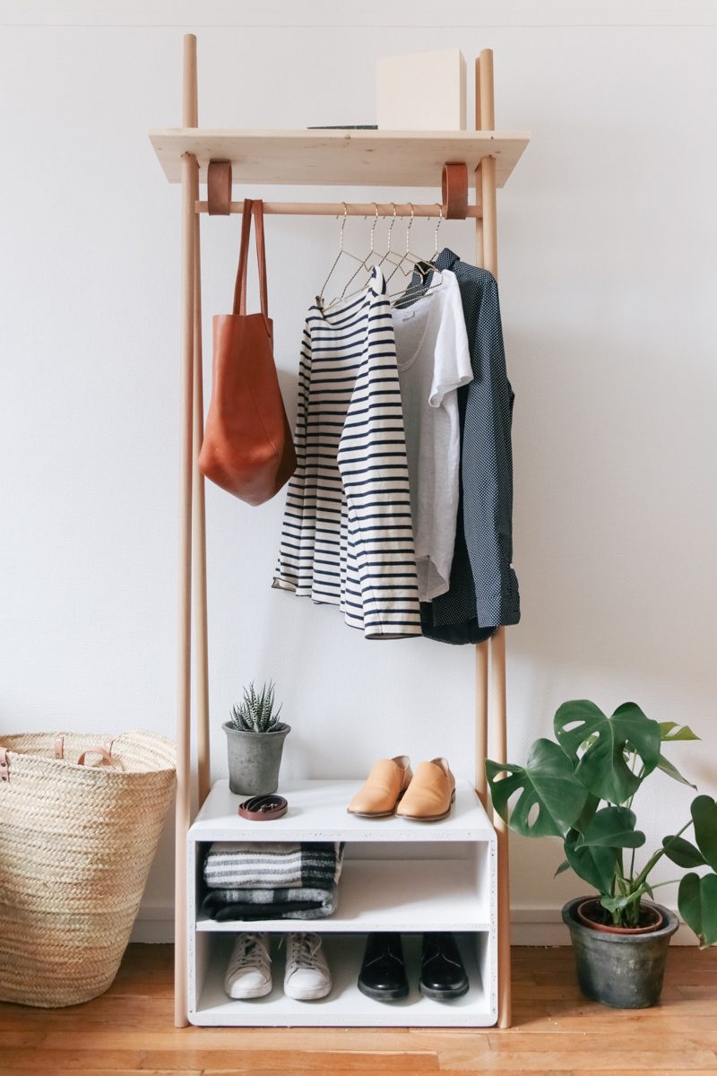 Chic And Practical Diy Clothes Racks That Put Your Wardrobe