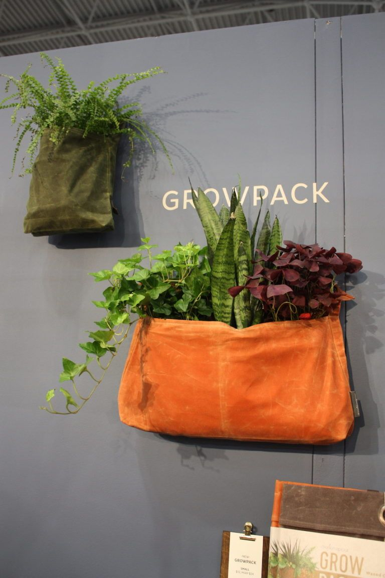 The Growpack holds an ample number of plants and folds flat for storage.