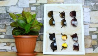 A Chic Way to Store Your Sunnies