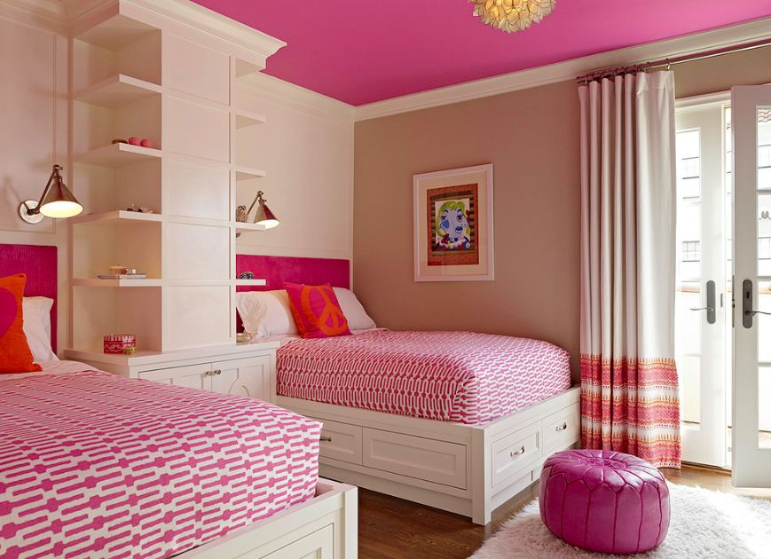 View in gallery. Twin Beds For Girls With An Eye For Stylish Decors
