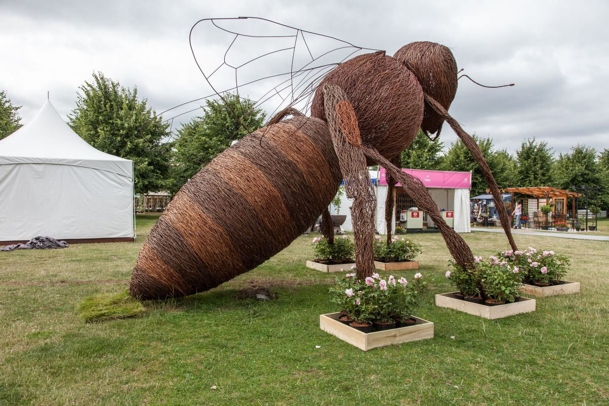 Some designs take things to a whole new level, like this giant wasp which is definitely very cool