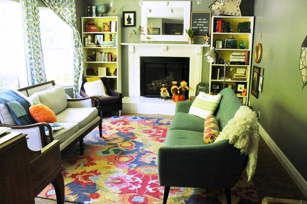 Amateur Corner Real Life Application For A Feng Shui Sofa This Living Room