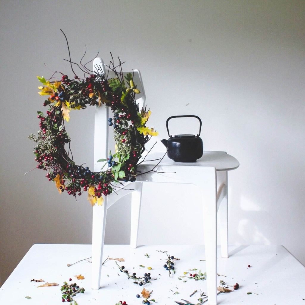 Twigs and Berries Fall Wreath