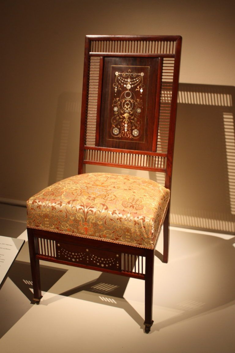 Some of these chairs feature marvelous decorative details like inlays.