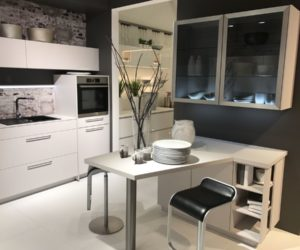 Awesome Small Breakfast Table Design   White Kitchen Cabinets