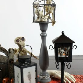 Spooky Halloween Lanterns DIY