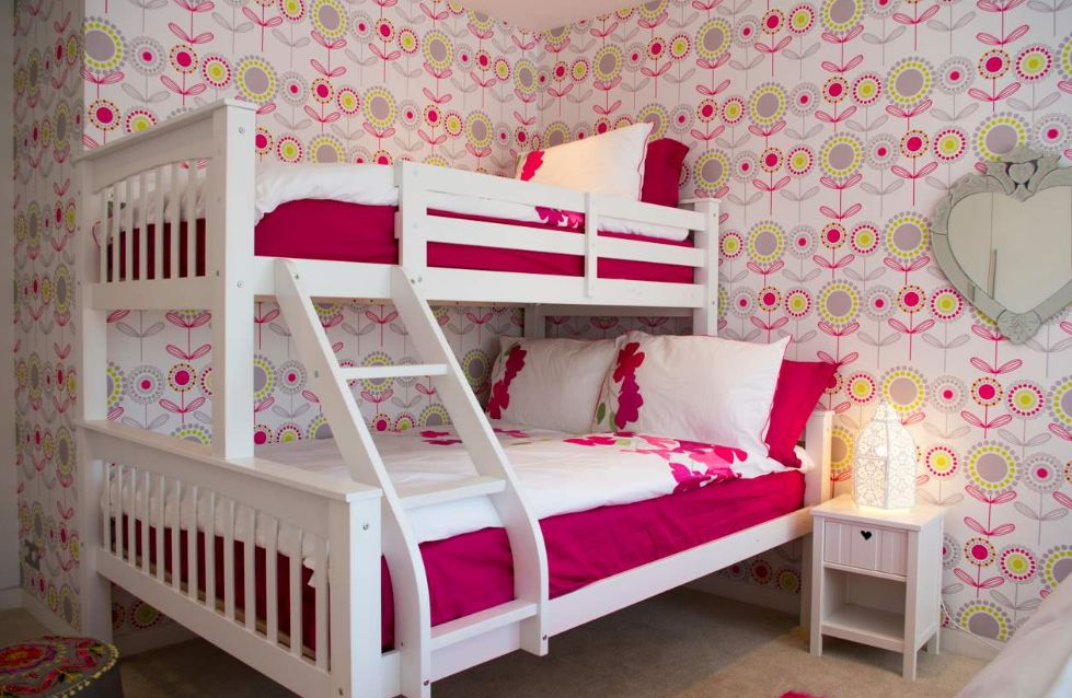 twin beds for girls with an eye for stylish decors