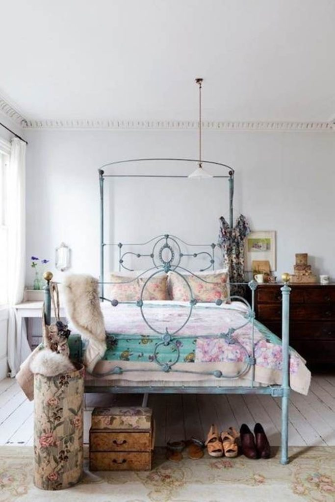 Boho Metal Bed Frame