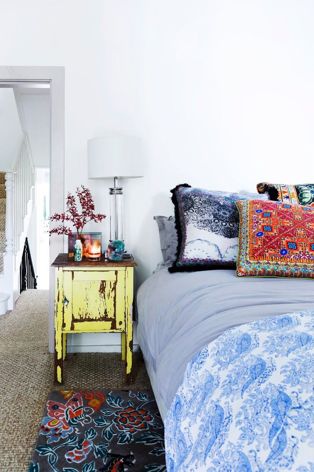 Eclectic Room Design: 40 Bohemian Bedrooms To Fashion Your Eclectic Tastes After