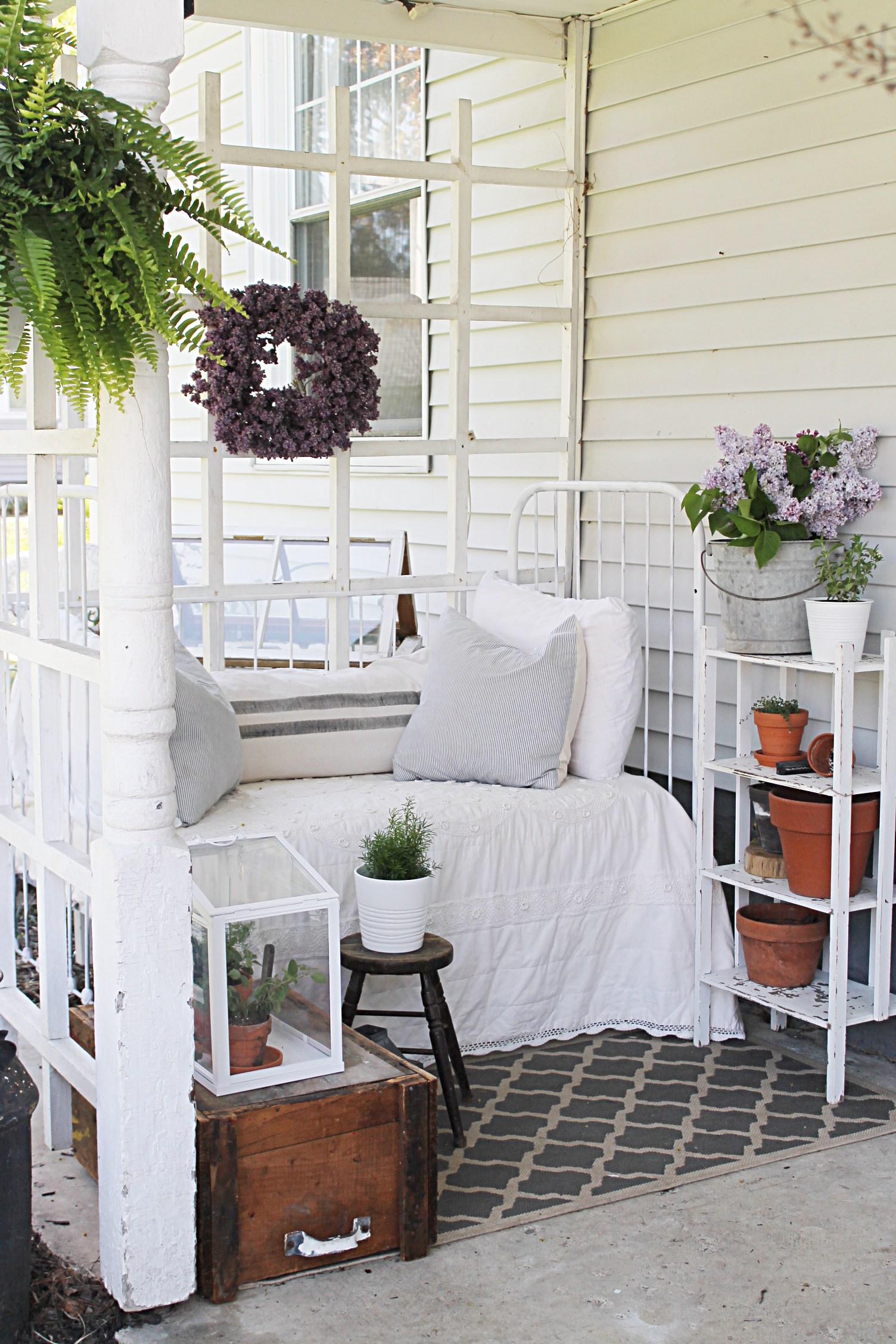 farmhouse back porch ideas
