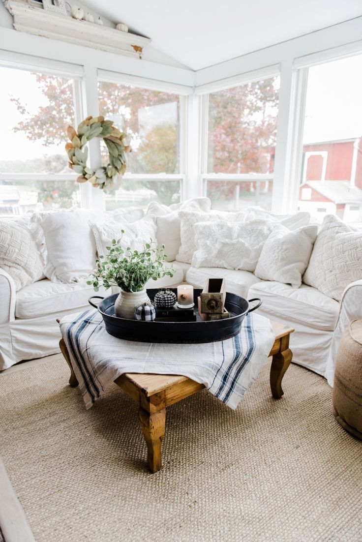 40 pieces of farmhouse decor to use all around the house coffee table accents geotapseo Choice Image