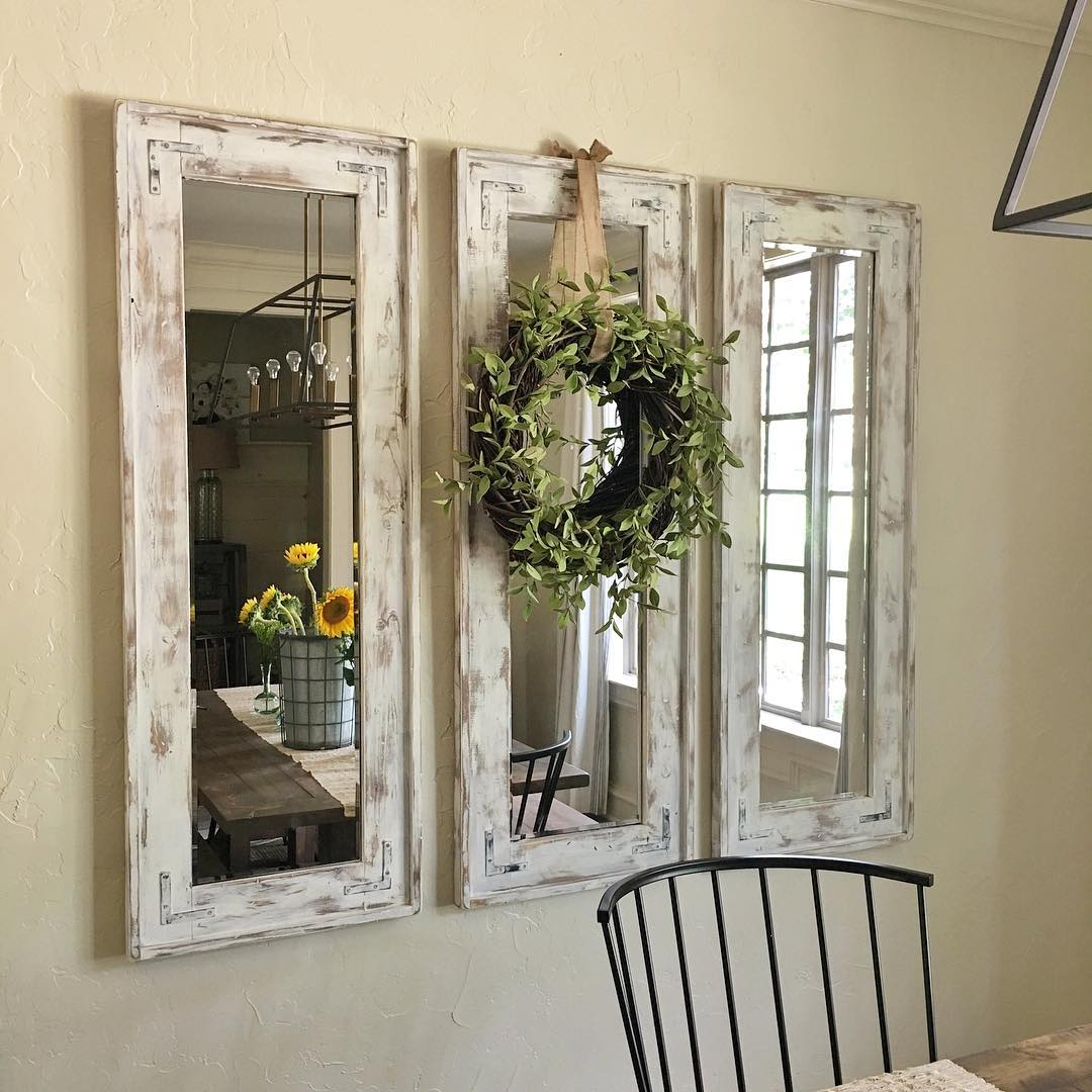 15 Framed Wall Mirrors View In Gallery