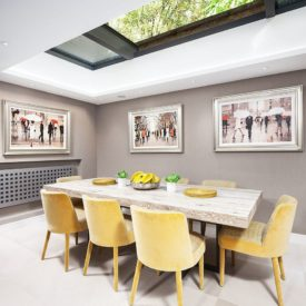 Adequate ventilation for dining room