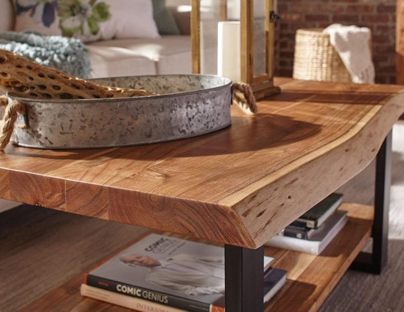 Live Edge Coffee Tables That Capture Nature S Beauty In Their Designs - Best Wood To Make A Live Edge Table