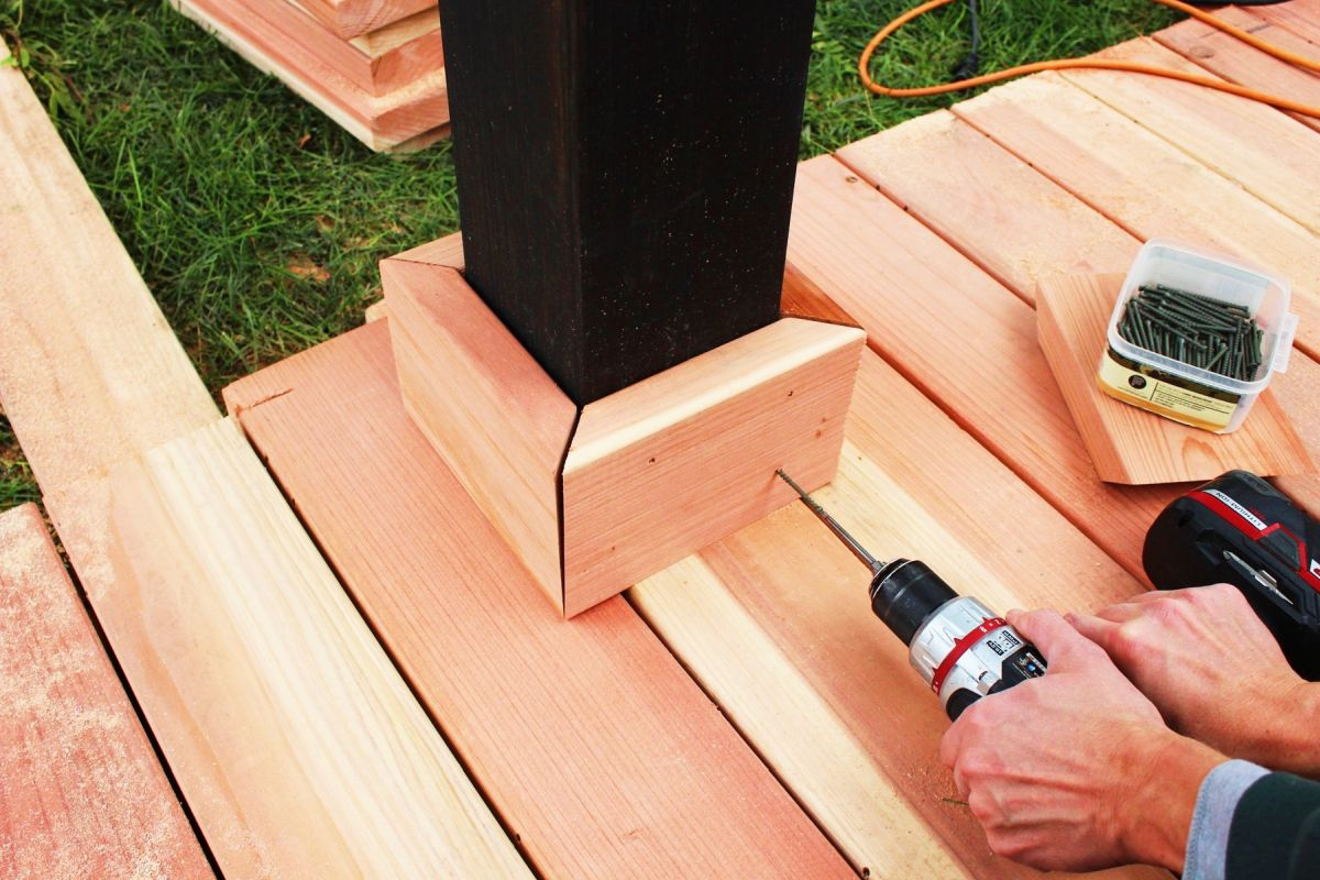 How to Trim a Redwood Deck: Finishing Touches Before Staining & Sealing images 1