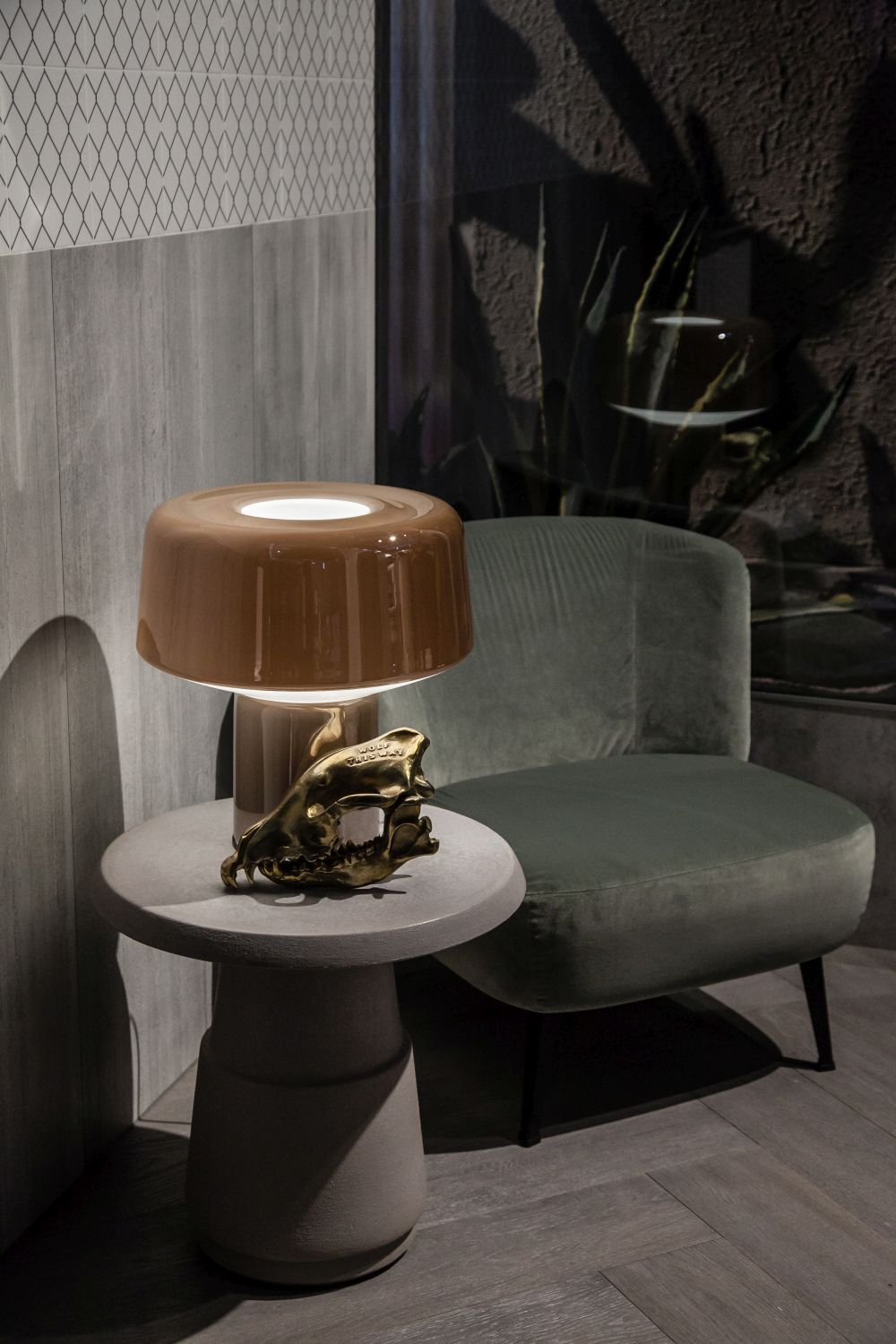 If you're using a table lamp, make sure it's positioned right and that the light falls at a comfortable angle