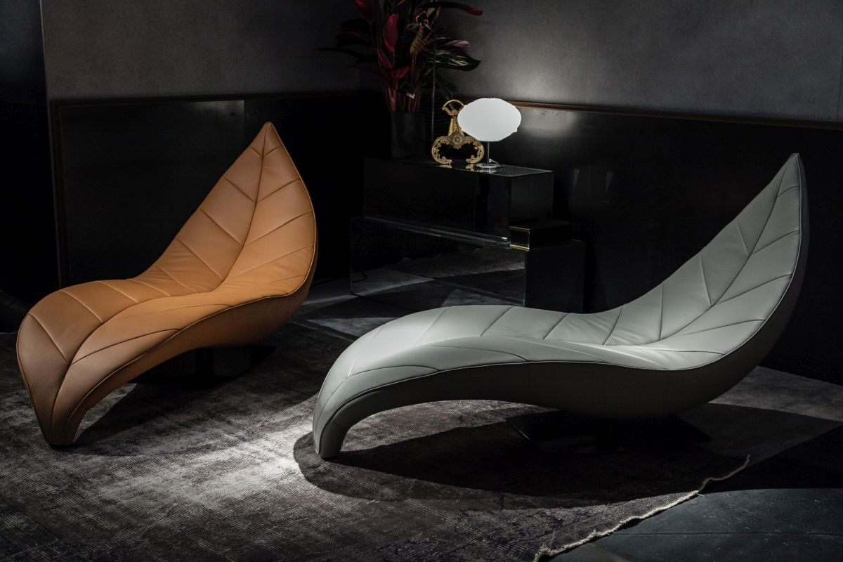 Satisfy your love for beauty and comfort with a lounge chair that offers both