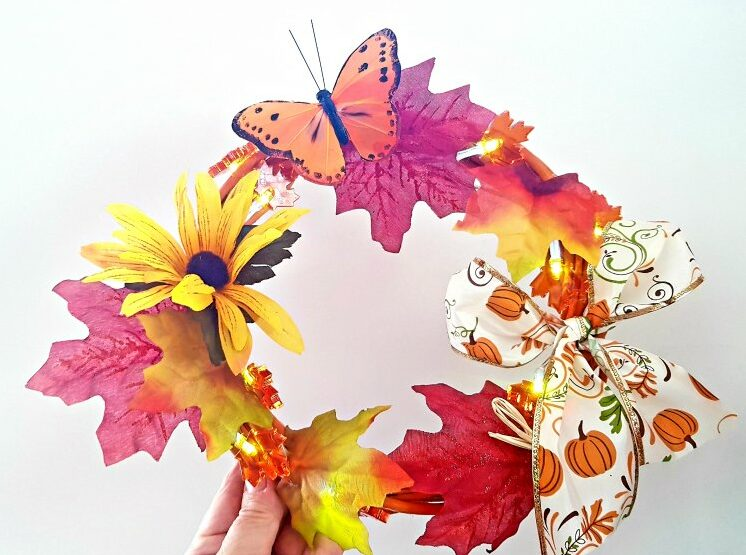 Butterfly Light Up Wreath