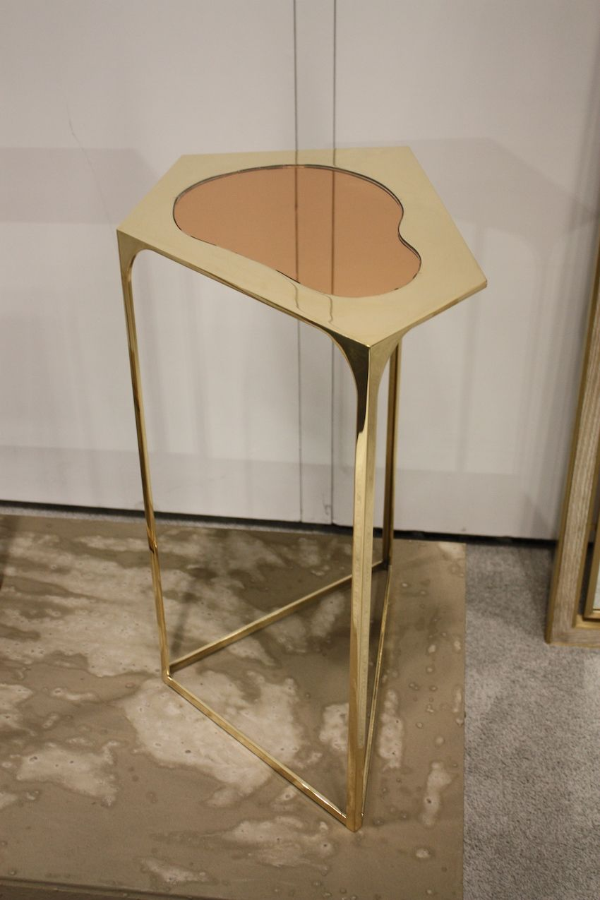 Smaller pieces like this table from Cam Crockford are easy to work into existing decor.