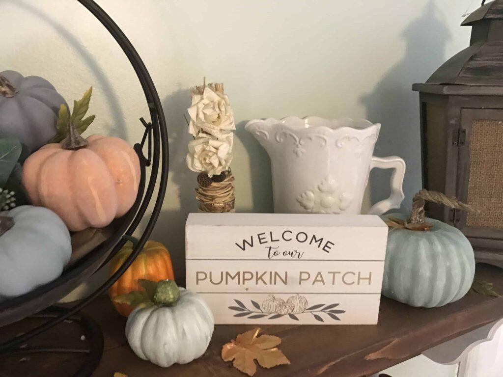 Cheap DIY Farmhouse Pumpkins