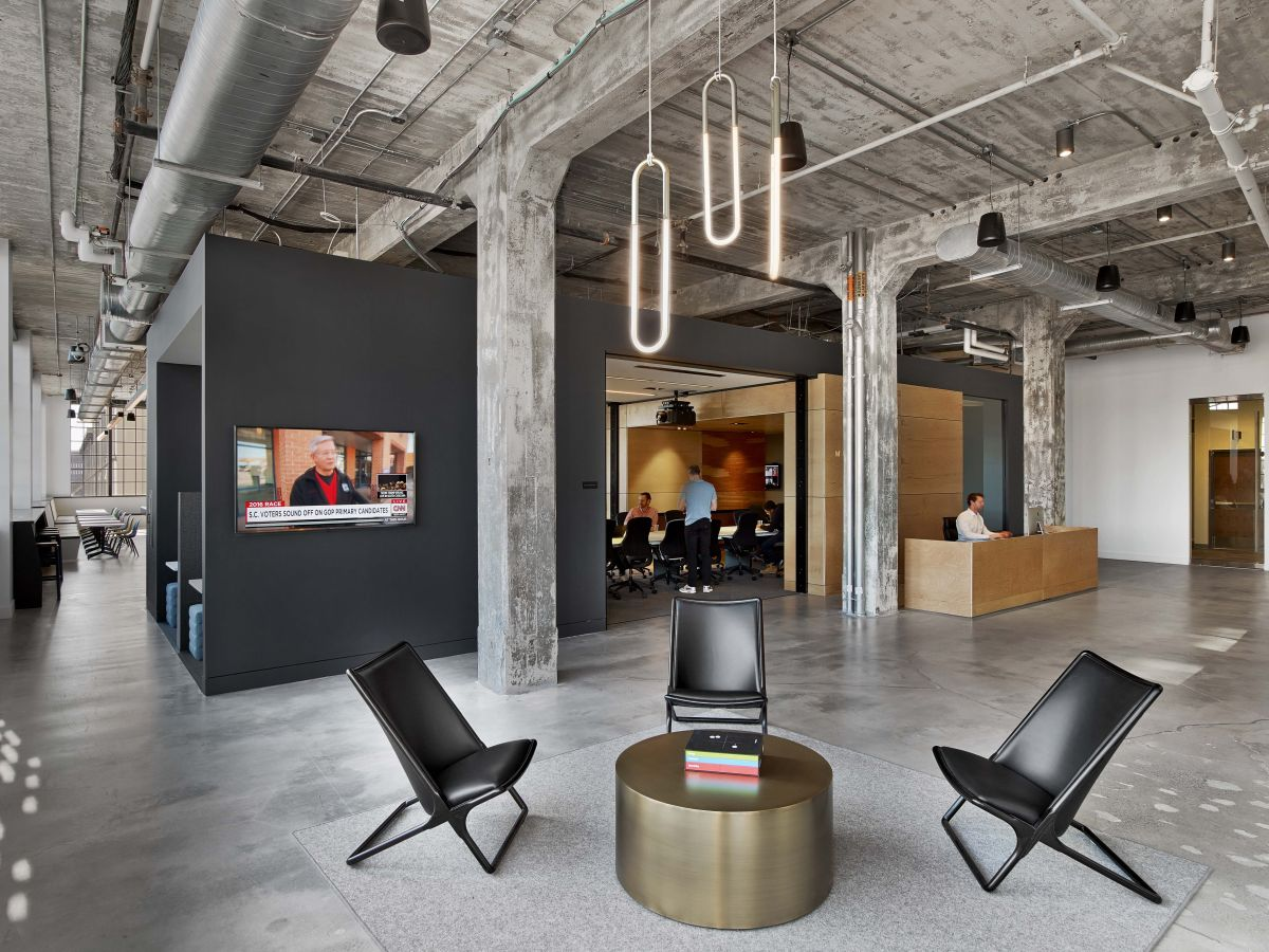 Former Tobacco Factory Transformed Into Innovative Office