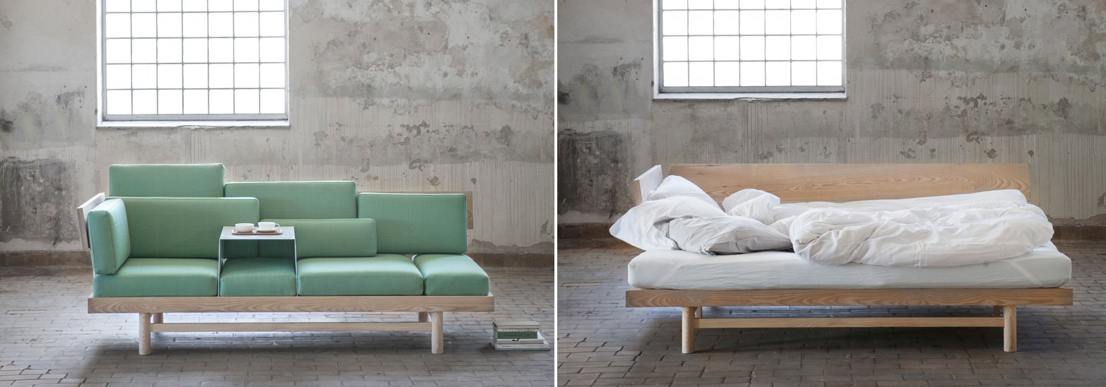 the design of the dorme sofa was developed as part of a project focused on compact living spaces and small apartments done by norwegian designer silje
