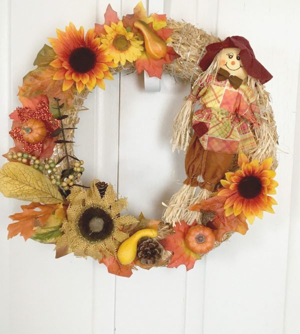 Country Scarecrow Wreath
