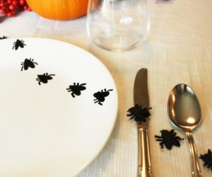 DIY Sharpie and Baked Insect Plates