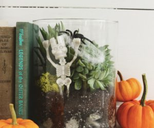DIY Spooky Terrarium for Halloween Decor