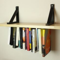 Unusual Upside-Down Shelf