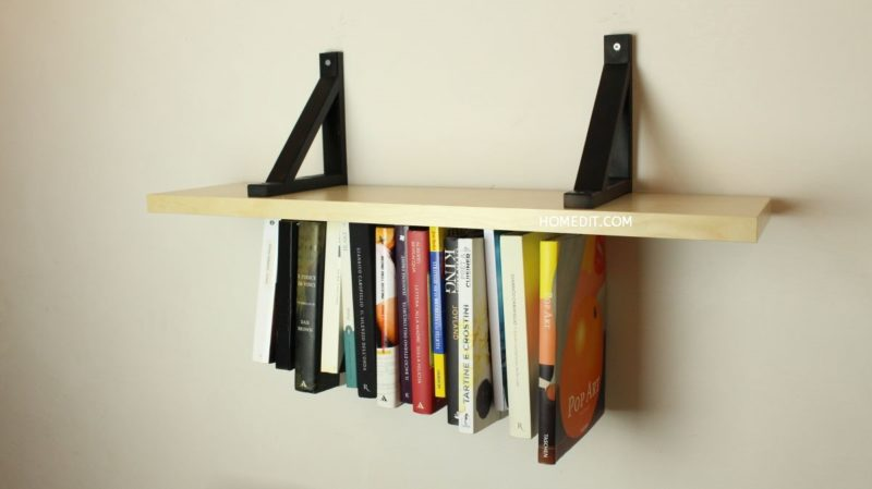 Unusual Upside-Down Shelf