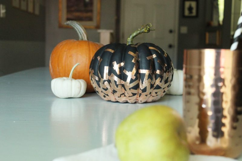 DIY Confetti Pumpkin for a Festive Halloween