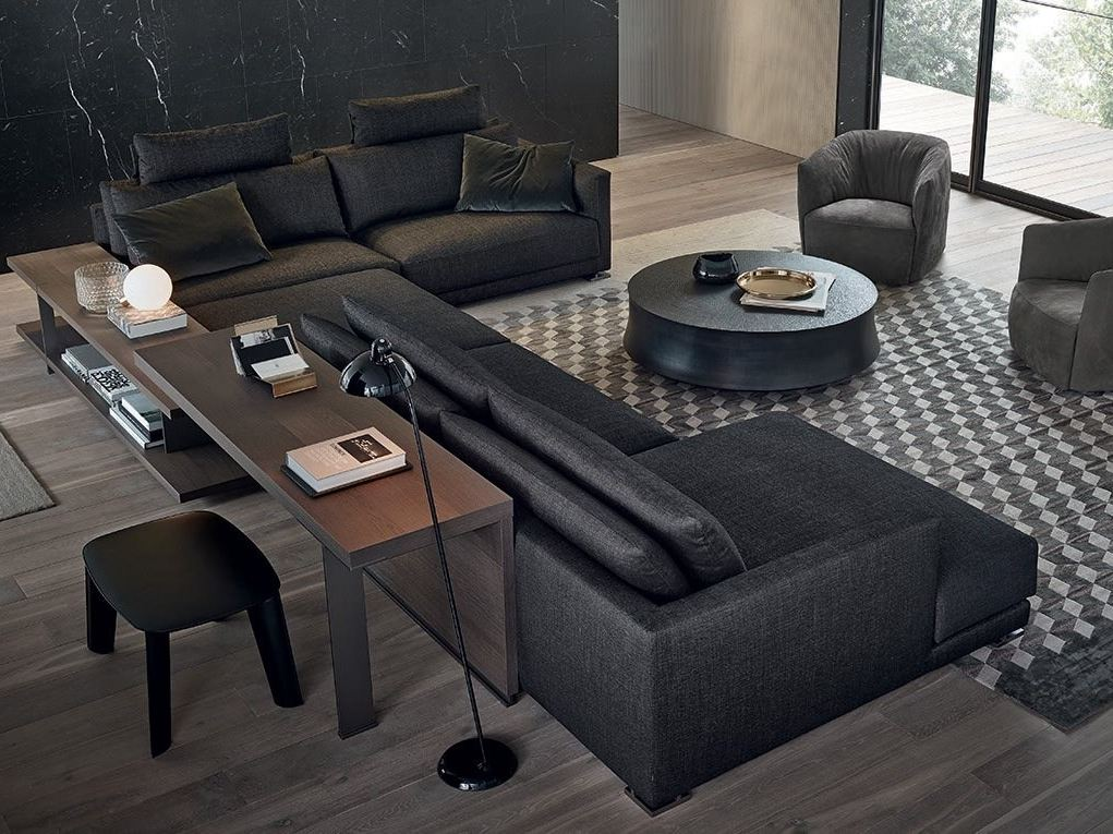 modern sectional sofas with a knack for looking stylish. Black Bedroom Furniture Sets. Home Design Ideas