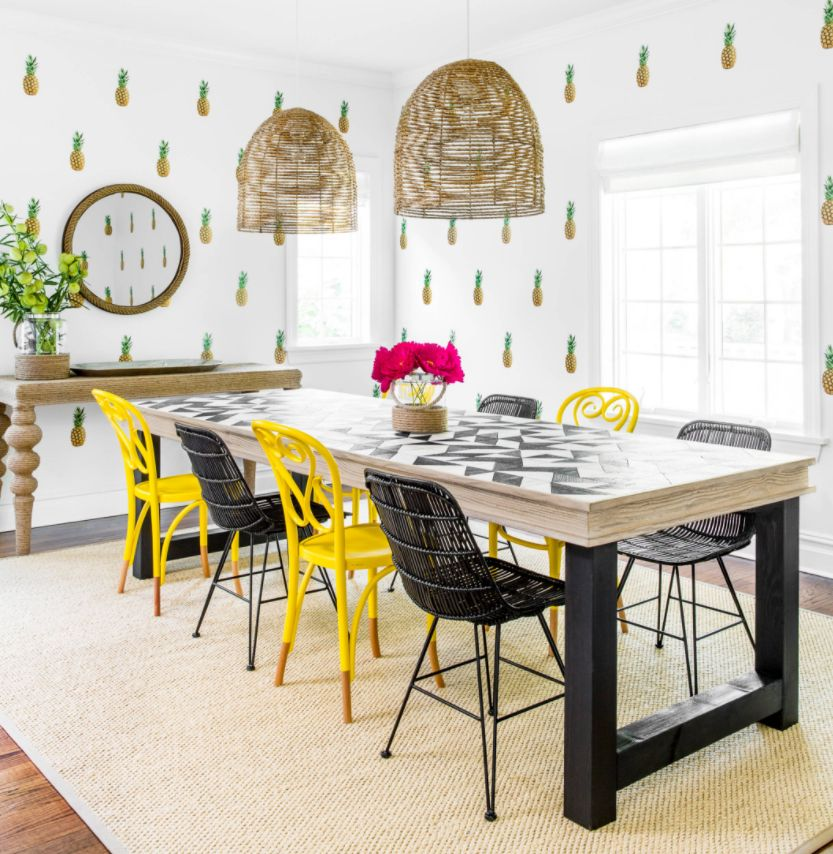 Merveilleux Tropical Pineapple Decor Ideas Bring Cheerfulness To Our Homes