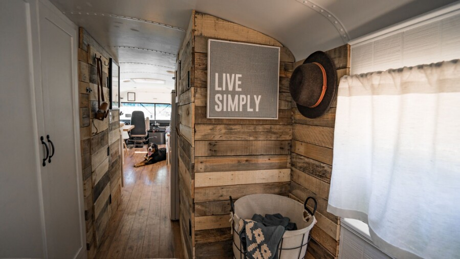 How To Turn A Bus Into A Home – Learning From The Best images 11