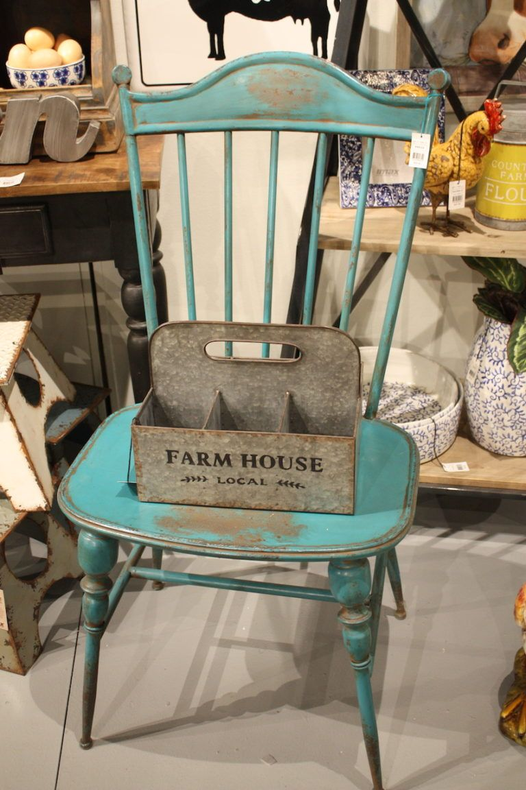Paired with rustic furniture, the galvanized metal carrier is a decidedly country-style piece.
