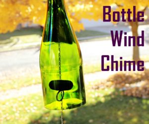 DIY Glass Bottle Wind Chime
