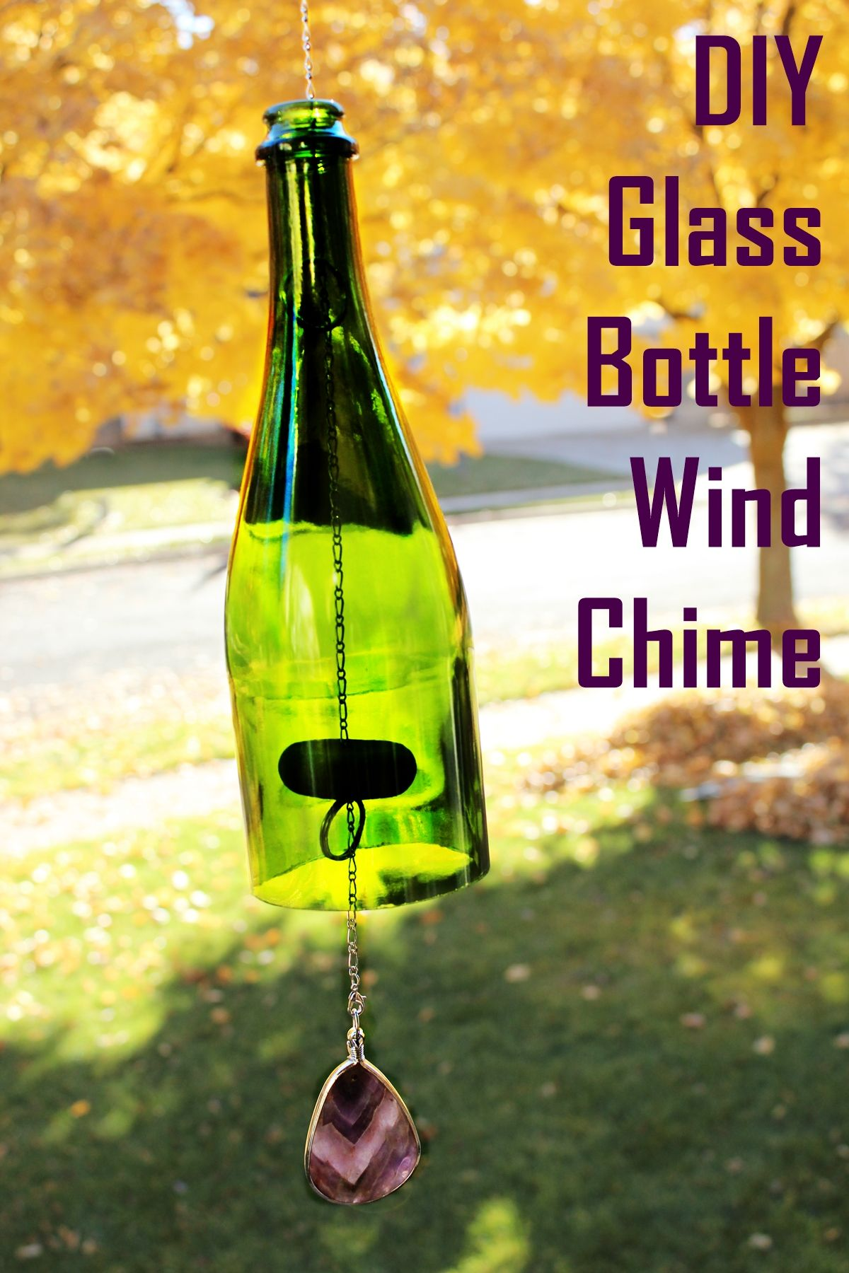 How to Make Wine Bottle Wind Chime forecasting