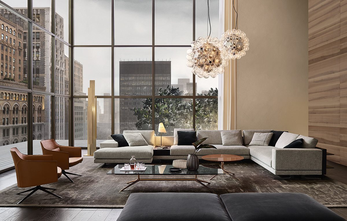 Modern Sectional Sofas With A Knack For Looking Stylish