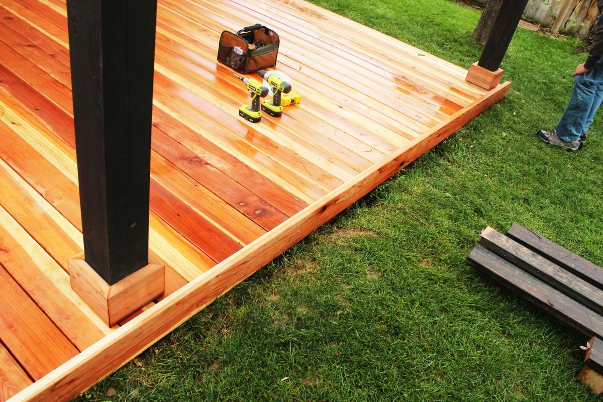 How to Trim a Redwood Deck: Finishing Touches Before Staining & Sealing images 9