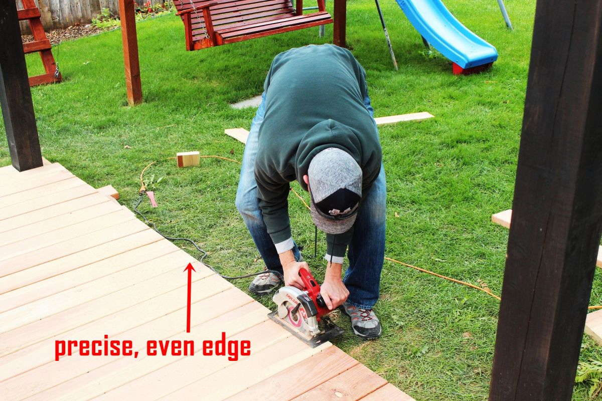 How to Trim a Redwood Deck: Finishing Touches Before Staining & Sealing images 7