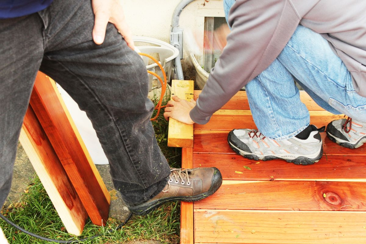 How to Trim a Redwood Deck: Finishing Touches Before Staining & Sealing images 15
